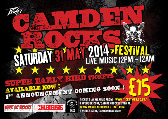 Camden Rocks flyer